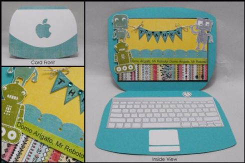 Finalist 9: Belinda Chang's Thanks Laptop Card