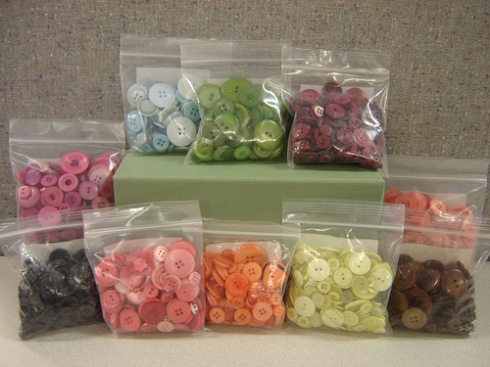 Five lucky winners will recieve an assortment of buttons from Papertrey Ink.