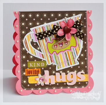 Finalist 6: Carla Peicheff's Kind, Loving, Hugs Card
