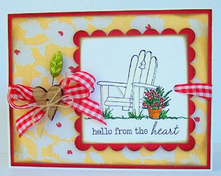Finalist 10: Chris Severs' Hello from the Heart Card
