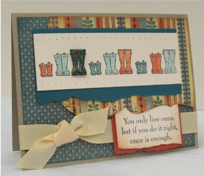Finalist 5: Tessa Wise's The Right Pair of Boots Card