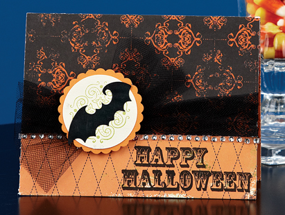 Chic Halloween Card