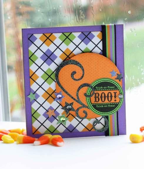Lisa Johnson's Swirl Boo Card